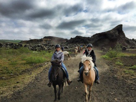 25 Horseride in Reykjavík