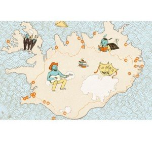 Illustrated #iceland from our handpicked kids & culture map #handpicked by #locals